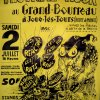 FESTIVAL ROCK AU GRAND BOURREAU ‎– Flyer de concert (1988)